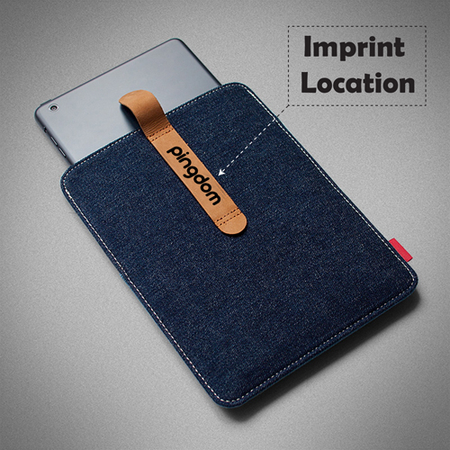 7.9 Inch Denim Tablet Case Imprint Image