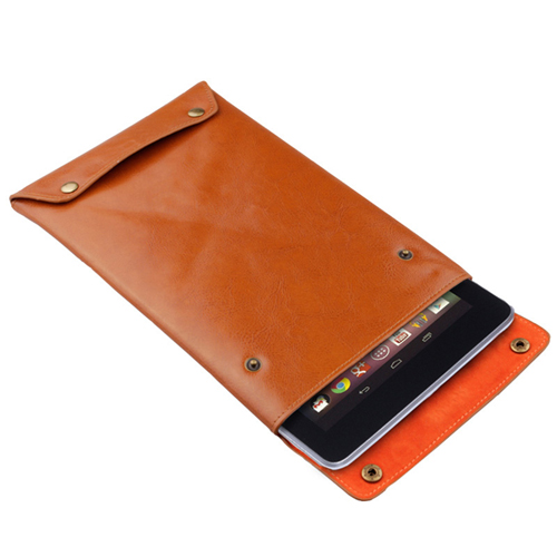 Genuine Cow Leather Case Cover Sleeve Image 1
