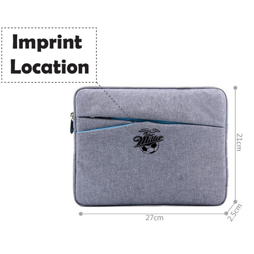 10 inch Brand Tablet Sleeve Bag Imprint Image