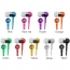 Metal Zipper Earphone Headphone