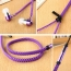 Metal Zipper Earphone Headphone Image 5