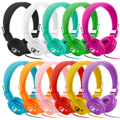 Foldable Stereo Headset With Mic