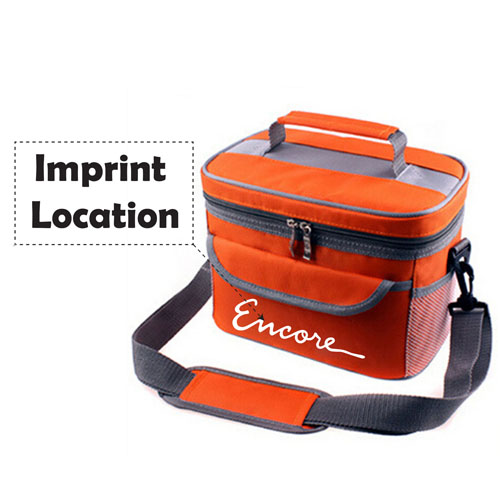Lancheira Termica Thermal Cooler Bag For Kids Imprint Image