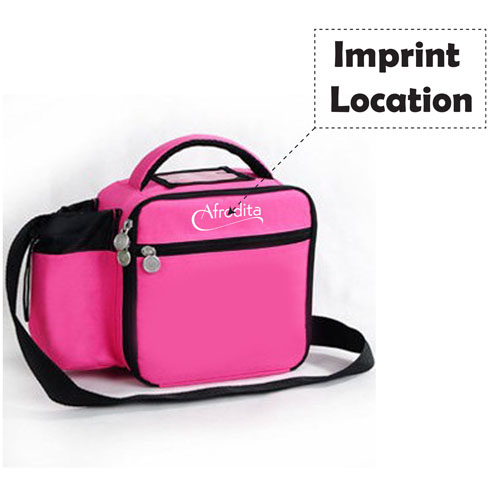 Ice Insulation Thermal Tote Lunch Bag  Imprint Image