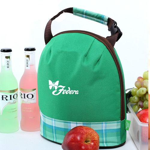 Portable Drum Shaped Thermal Shoulder Bag Image 1