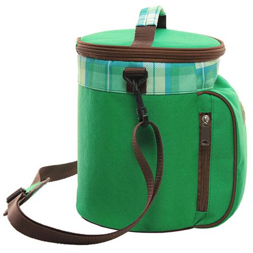 Portable Drum Shaped Thermal Shoulder Bag Image 3