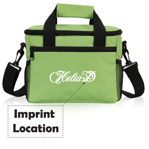 Insulated Large Food Storage Bag Imprint Image
