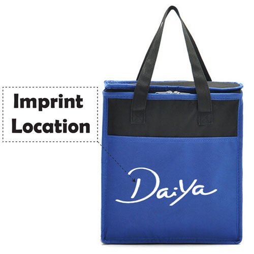 Thermal Insulated Large Capacity Cooler Bag Imprint Image