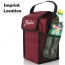 Insulated Portable Cooler Lunch Bag Imprint Image