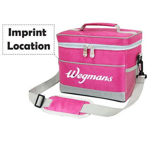 Suitcase Type 2-Layers Thermal Cooler Bag Imprint Image