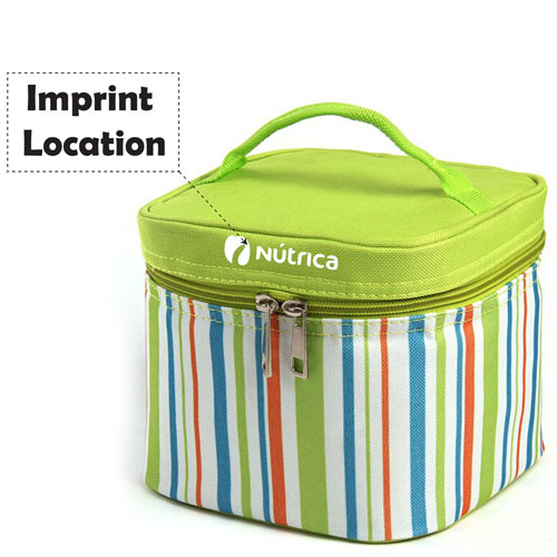 Insulated Thermal Cooler Bag For Picnic Imprint Image