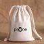 Cotton Canvas Drawstring Custom Logo Bag