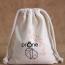 Cotton Canvas Drawstring Custom Logo Bag