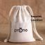 Cotton Canvas Drawstring Custom Logo Bag Imprint Image