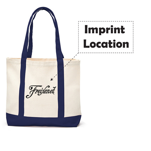 Shopping Tote Long Handles Shopper bag Imprint Image
