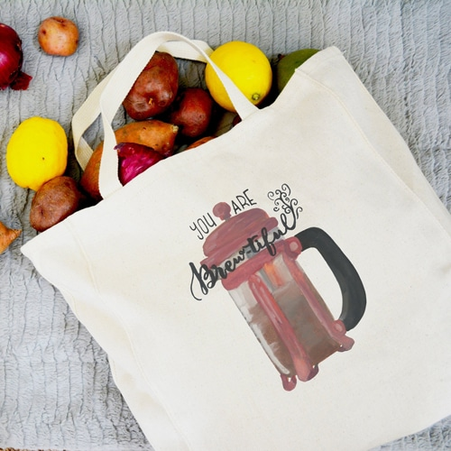 Canvas Cotton Fold-able Shopping Bag  Image 1