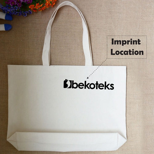 Canvas Cotton Fold-able Shopping Bag  Imprint Image