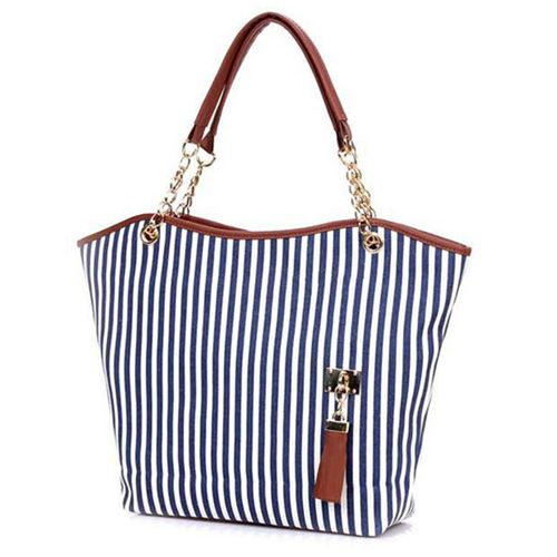 Women Handbags With Tassels Gold Chain Image 1