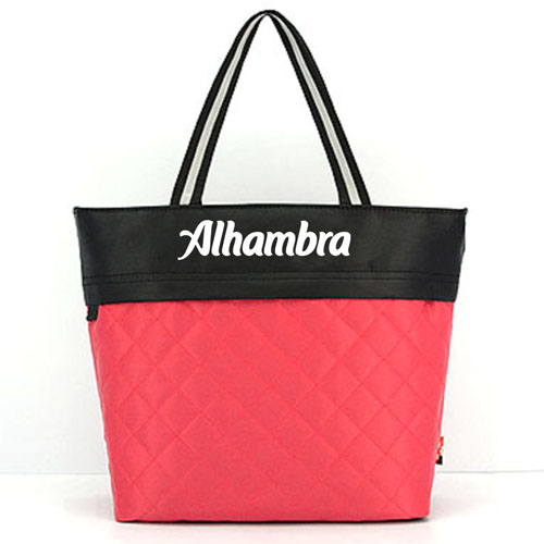 Women Patchwork Cotton Tote Shopping Bag