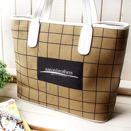 Women Tote Bag Made From Cotton Canvas