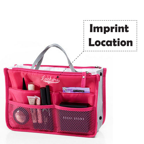 Women Cosmetic Bags Toiletry Outdoor Travel Bags Imprint Image