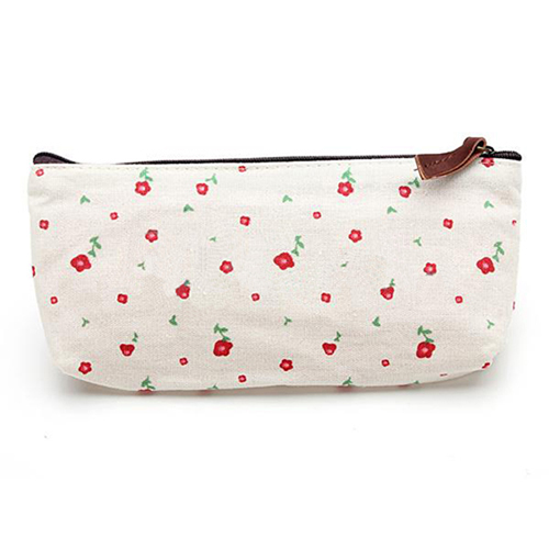 Floral Pencil Pen Case Cosmetic Storage Pouch  Image 5