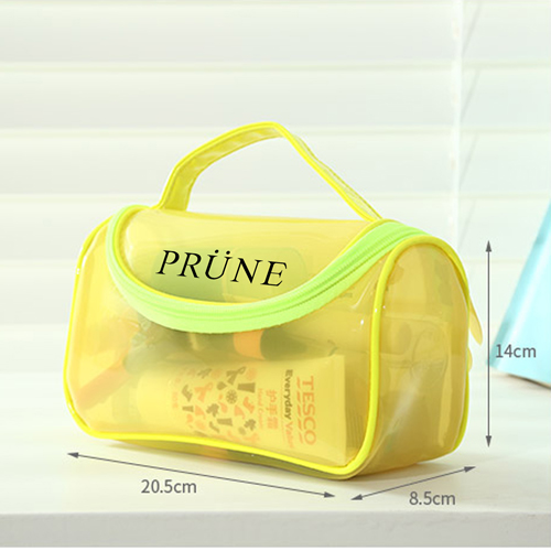 Toiletry Makeup Organizer Transparent Pouch Image 5