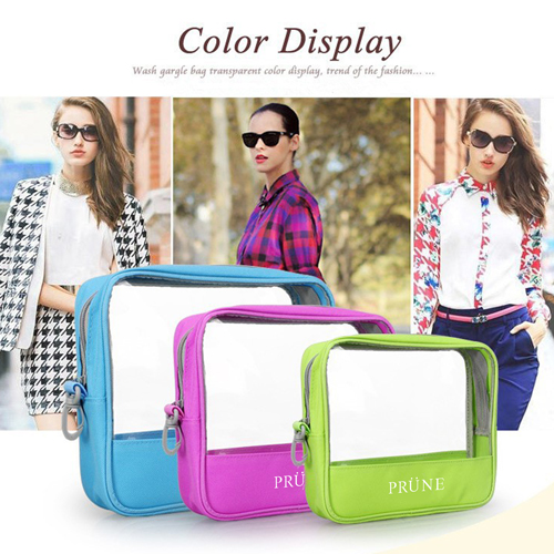 Women Organizer Pouch Transparent Cosmetic Bags Image 2