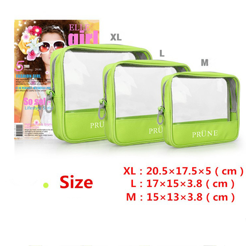 Women Organizer Pouch Transparent Cosmetic Bags Image 4