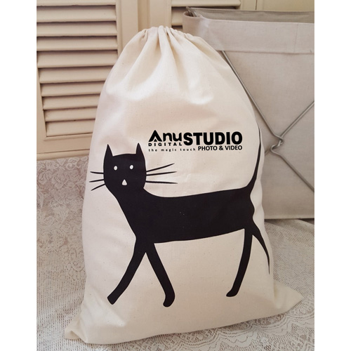 Cartoon Printing Laundry Storage Bag