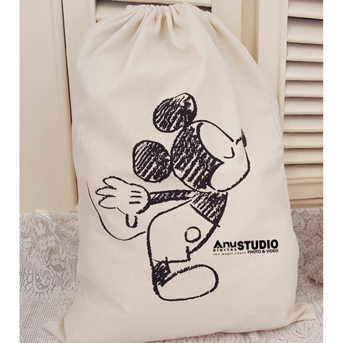 Cartoon Printing Laundry Storage Bag Image 2