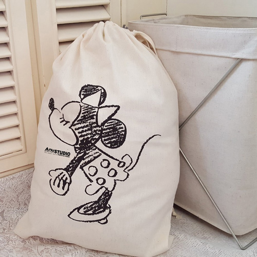 Cartoon Printing Laundry Storage Bag Image 3