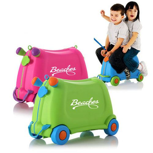 Baby Toy Car Ride Sit Suitcase