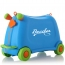 Baby Toy Car Ride Sit Suitcase Image 2