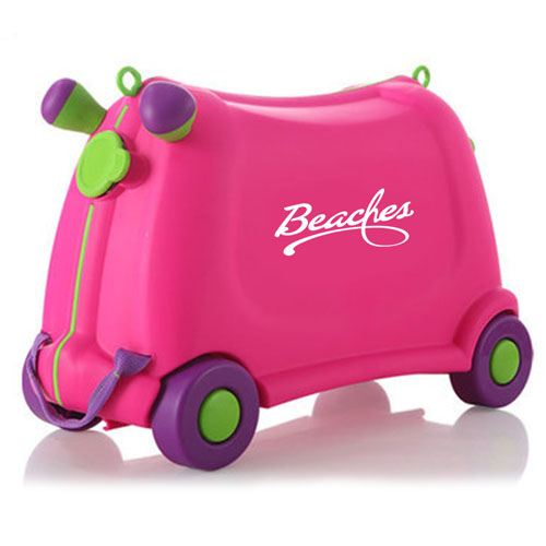 Baby Toy Car Ride Sit Suitcase Image 3