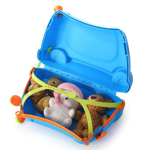Baby Toy Car Ride Sit Suitcase Image 4