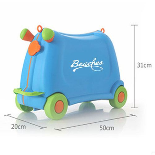 Baby Toy Car Ride Sit Suitcase Image 5