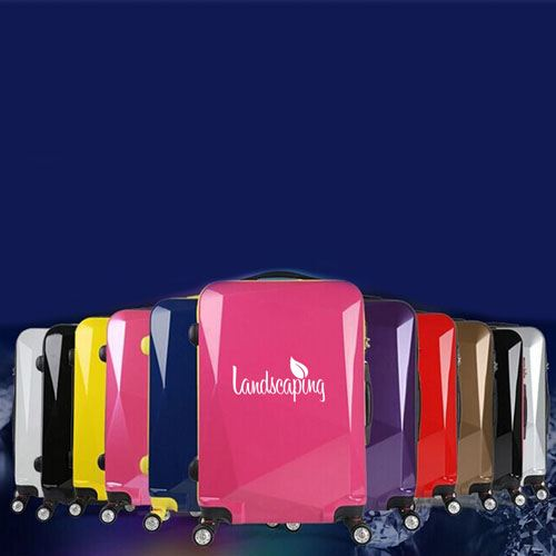 Diamond Cut Surface Travel Luggage Image 2