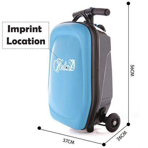 Fashion 21 Inch Travel Luggage Imprint Image