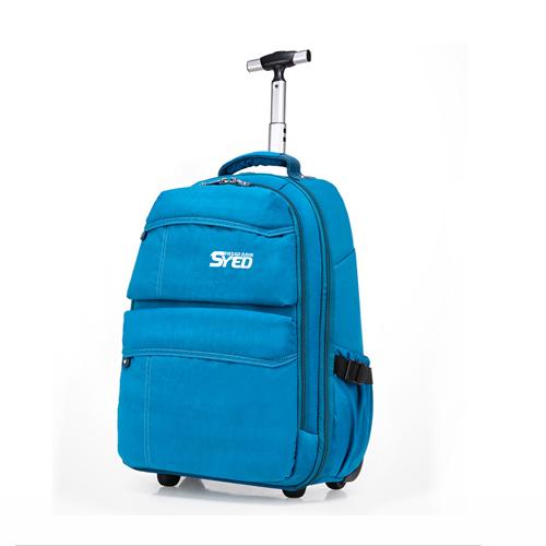 School Bag Trolley Round Trip  Image 1