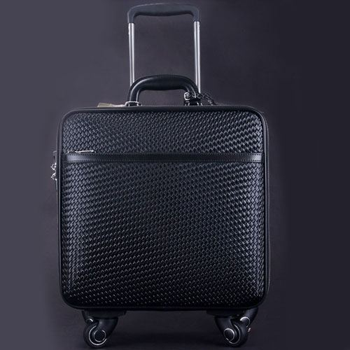 Wire Wheels Travel Luggage Bag Image 2