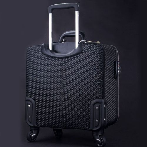 Wire Wheels Travel Luggage Bag Image 3