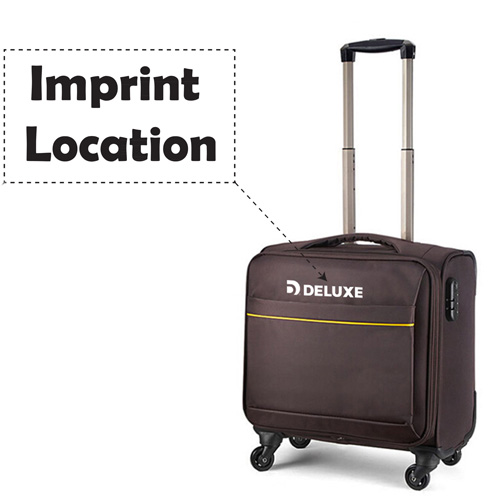 Business Trolley Luggage Suitcase Imprint Image