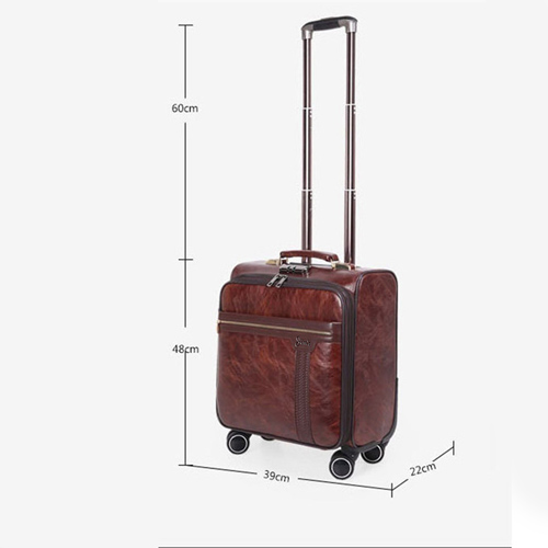 Business 4 Wheel luggage Suitcase Image 4
