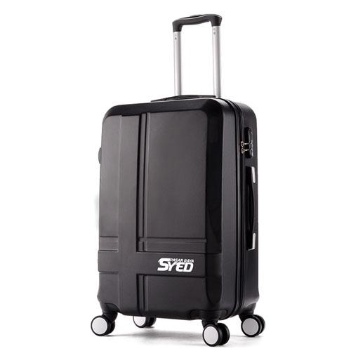 Hardside Luggage Trolley Suitcase Image 3