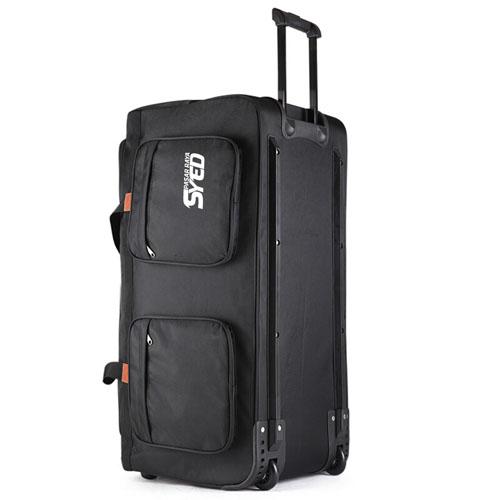 Oxford Wheel Luggage Trolley Bag Image 1