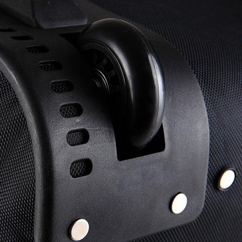 Oxford Wheel Luggage Trolley Bag Image 3