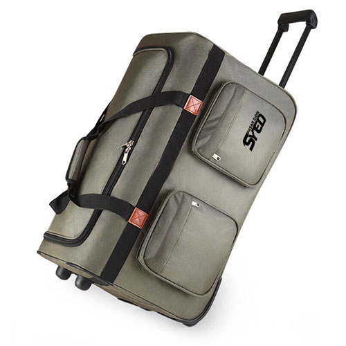Oxford Wheel Luggage Trolley Bag Image 4