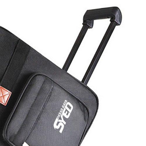 Oxford Wheel Luggage Trolley Bag Image 5