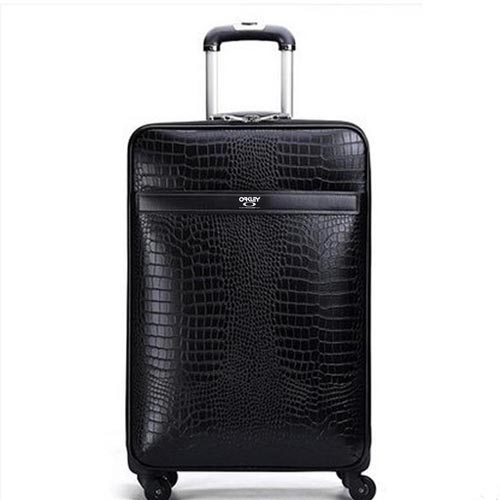 Leather Business Casual Wheels Luggage